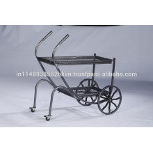 Industrial Vintage Outdoor Kitchen Furniture Metal Cart